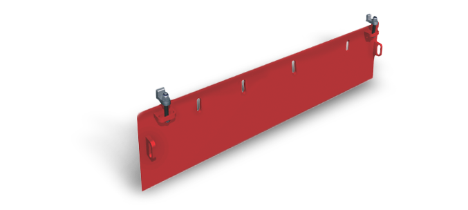 ASGCO External Wear Liner Skirtboard System