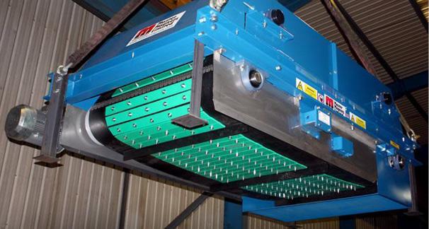 ASGCO Magentic Separator Installed