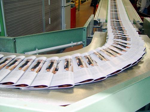 ASGCO Light Duty Conveyor Belting Newspaper on Conveyor