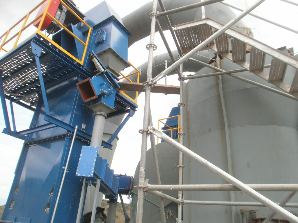 ASGCO Material Handling Bucket Elevator Application