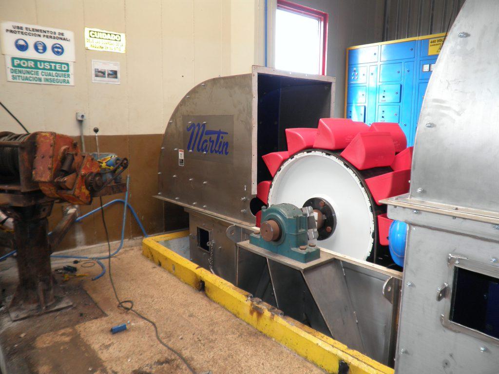 ASGCO Material Handling Bucket Elevator System